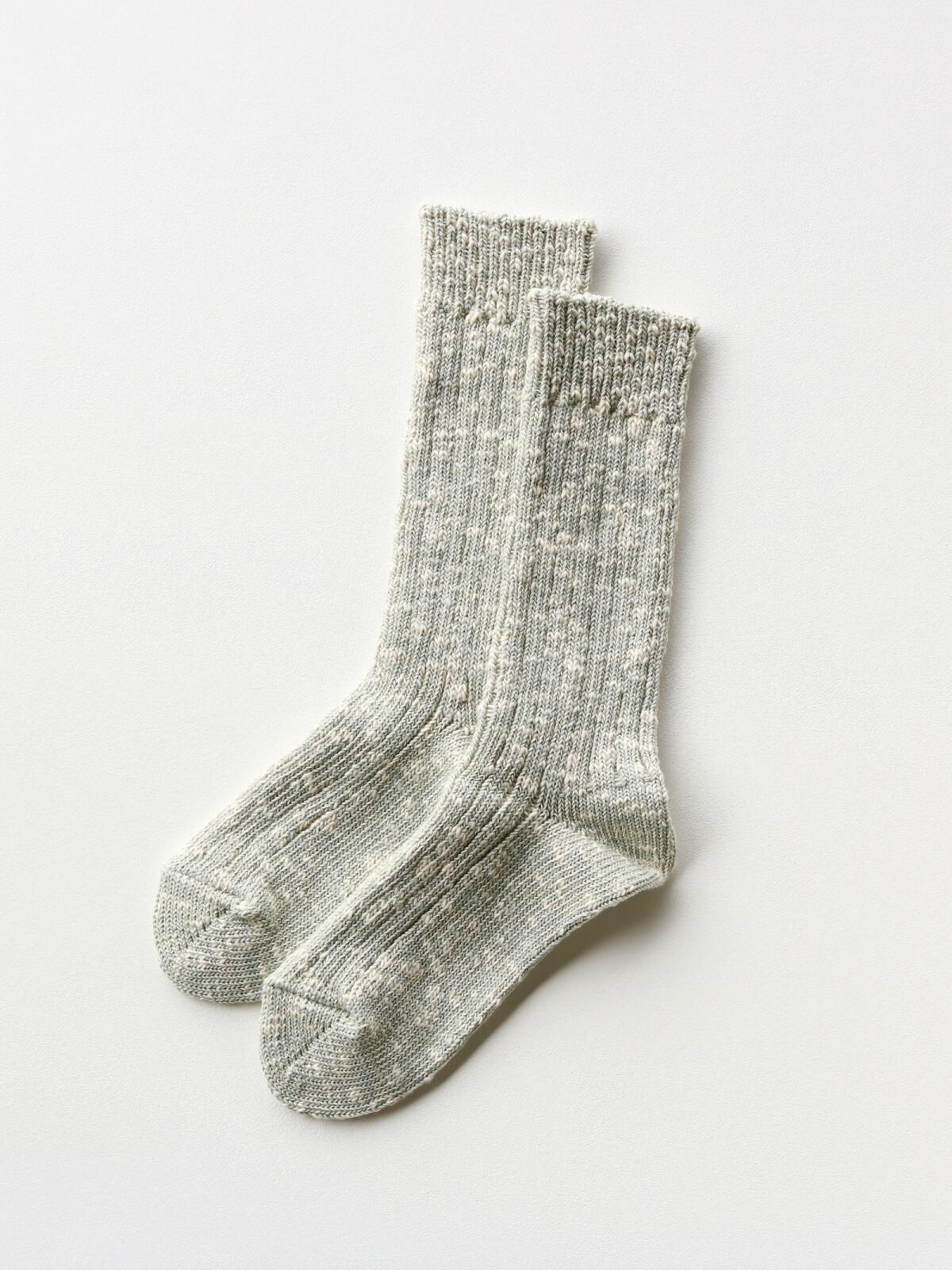 当たりつきギフト専用靴下のLUCKY SOCKS(ラッキーソックス)のMix Rib Socks(ミックスリブソックス)のペールミント_2