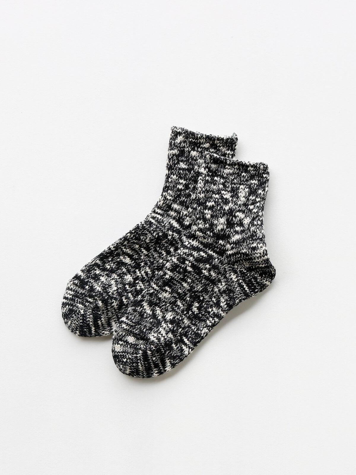 当たりつきギフト専用靴下のLUCKY SOCKS(ラッキーソックス)のMix Ankle Socks(ミックスアンクルソックス)のブラック_2
