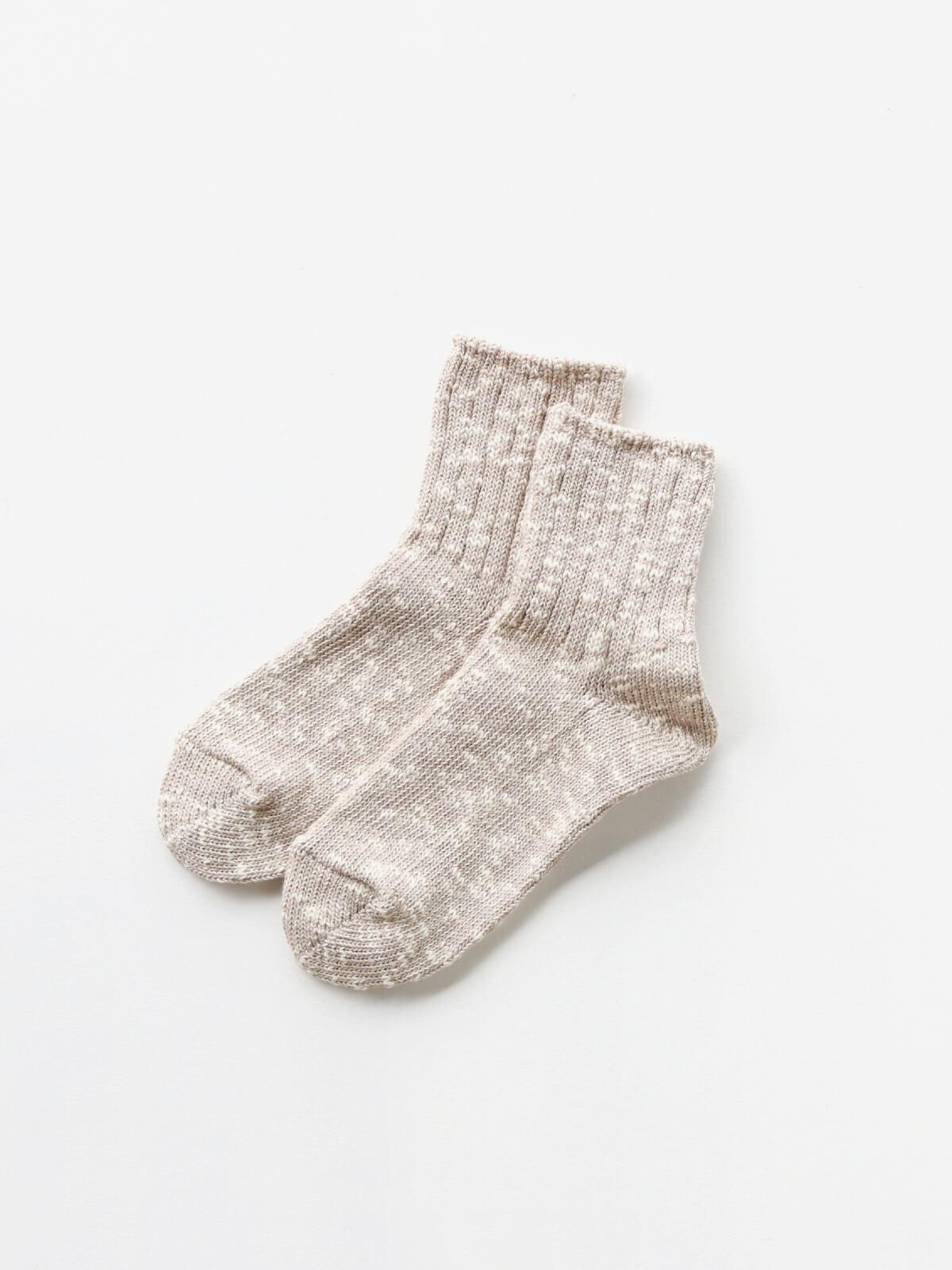 当たりつきギフト専用靴下のLUCKY SOCKS(ラッキーソックス)のMix Ankle Socks(ミックスアンクルソックス)のグレージュ_2