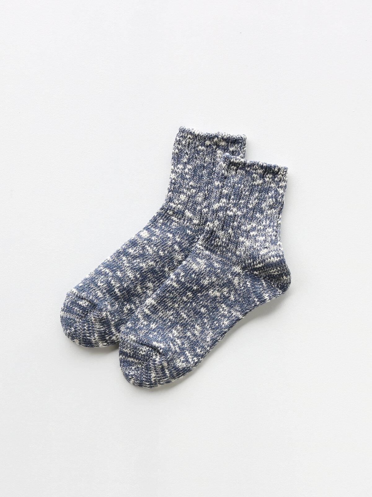 当たりつきギフト専用靴下のLUCKY SOCKS(ラッキーソックス)のMix Ankle Socks(ミックスアンクルソックス)のインディゴ_2