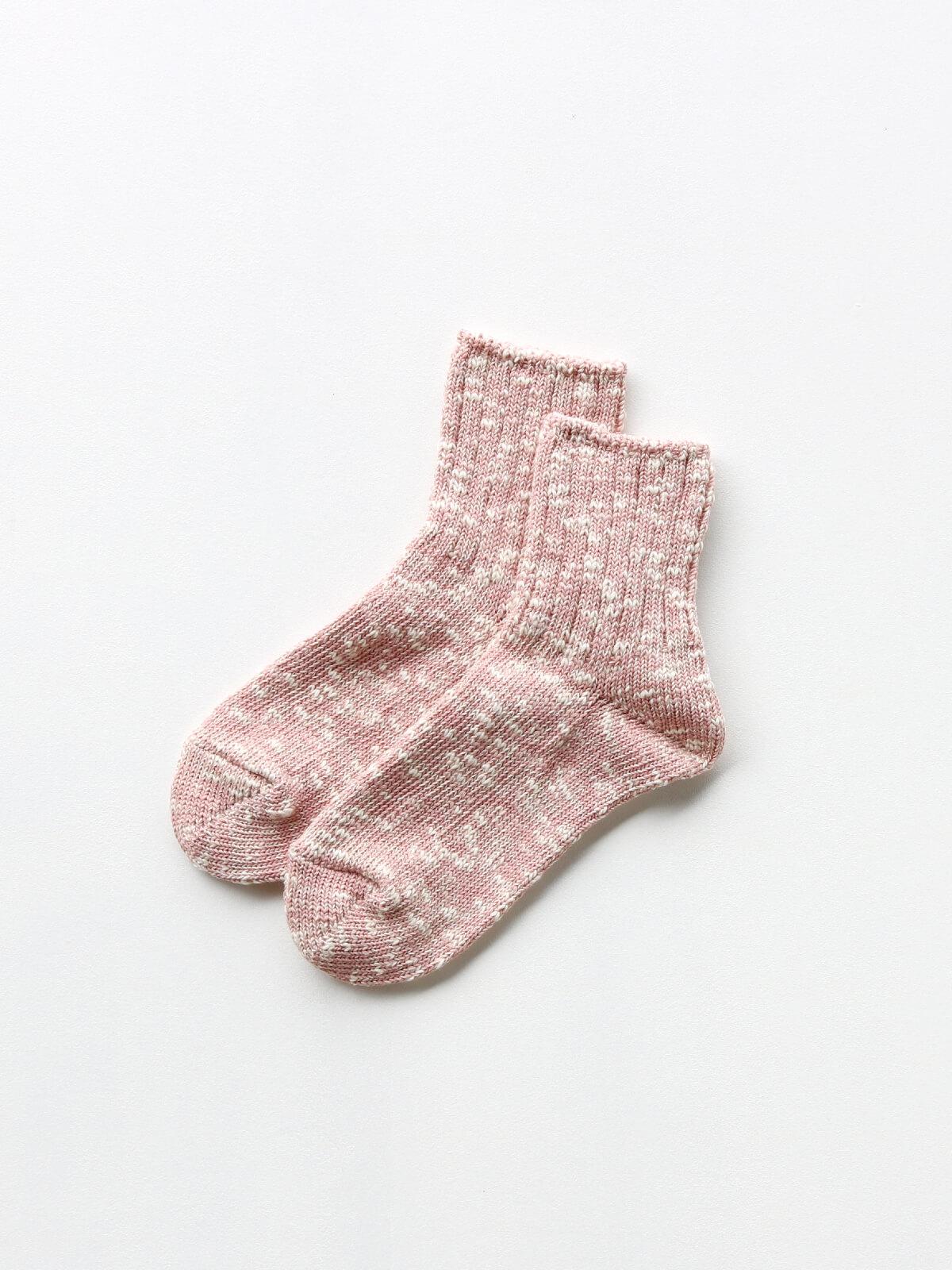 当たりつきギフト専用靴下のLUCKY SOCKS(ラッキーソックス)のMix Ankle Socks(ミックスアンクルソックス)のパウダーピーチ_2