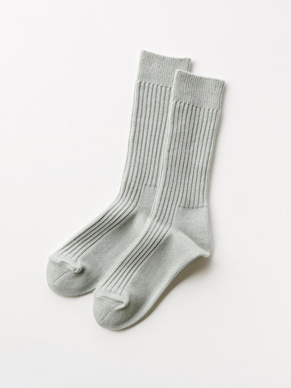 当たりつきギフト専用靴下のLUCKY SOCKS(ラッキーソックス)のSmooth Rib Socks(スムースリブソックス)のペールミント_2