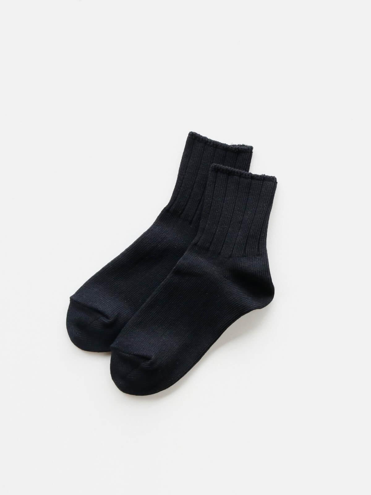 当たりつきギフト専用靴下のLUCKY SOCKS(ラッキーソックス)のSmooth Ankle Socks(スムースアンクルソックス)のブラック_2