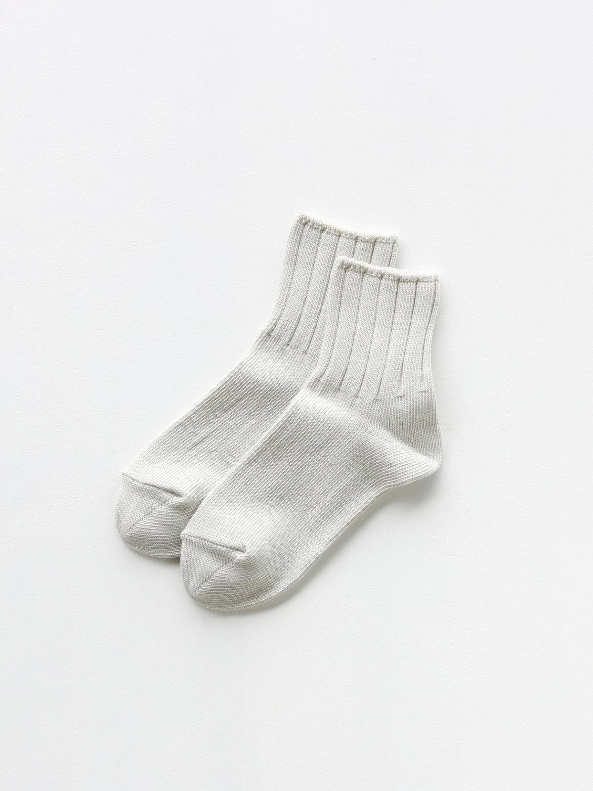 当たりつきギフト専用靴下のLUCKY SOCKS(ラッキーソックス)のSmooth Ankle Socks(スムースアンクルソックス)のアイボリー_2