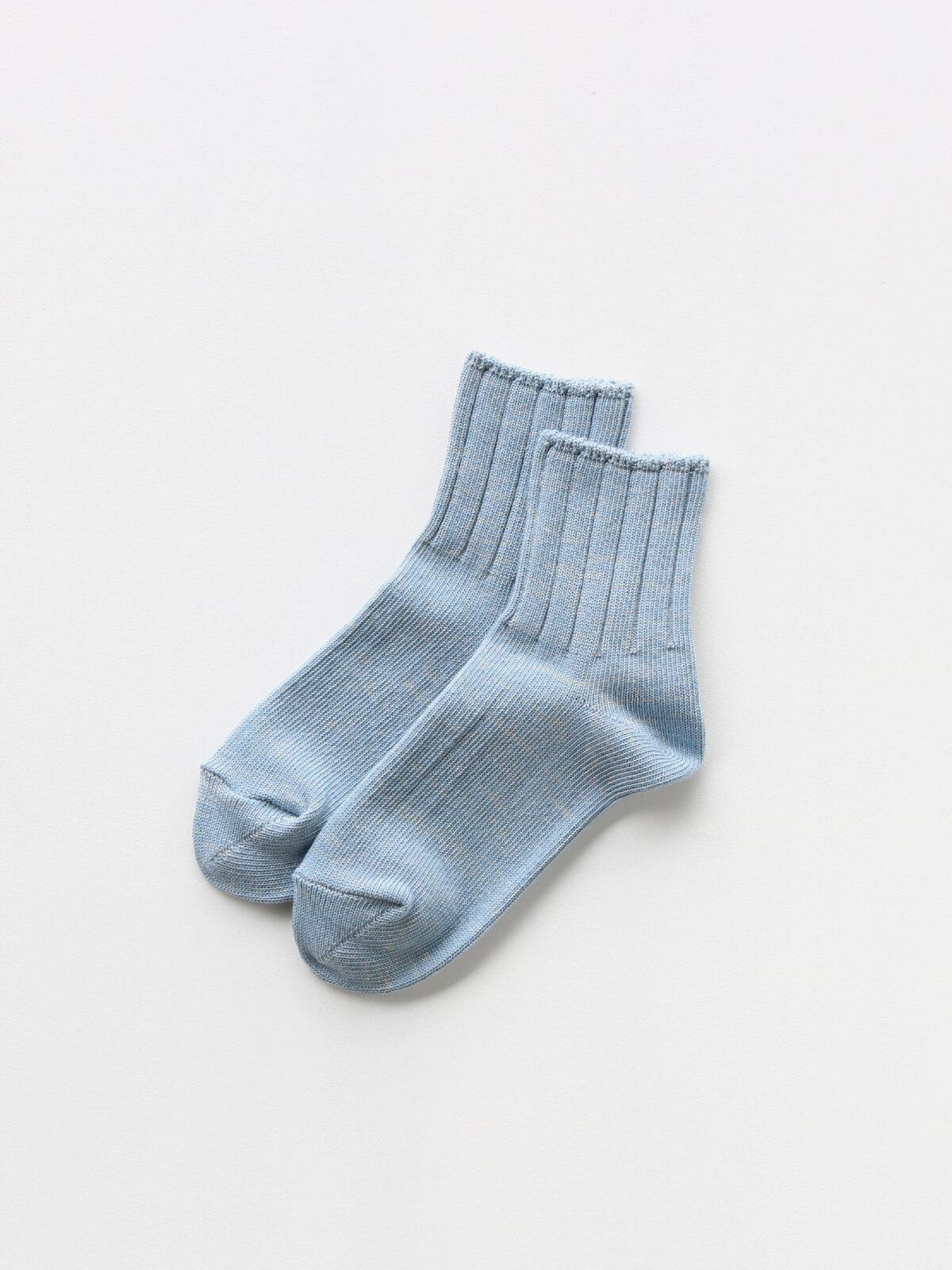 当たりつきギフト専用靴下のLUCKY SOCKS(ラッキーソックス)のSmooth Ankle Socks(スムースアンクルソックス)のスチールブルー_2