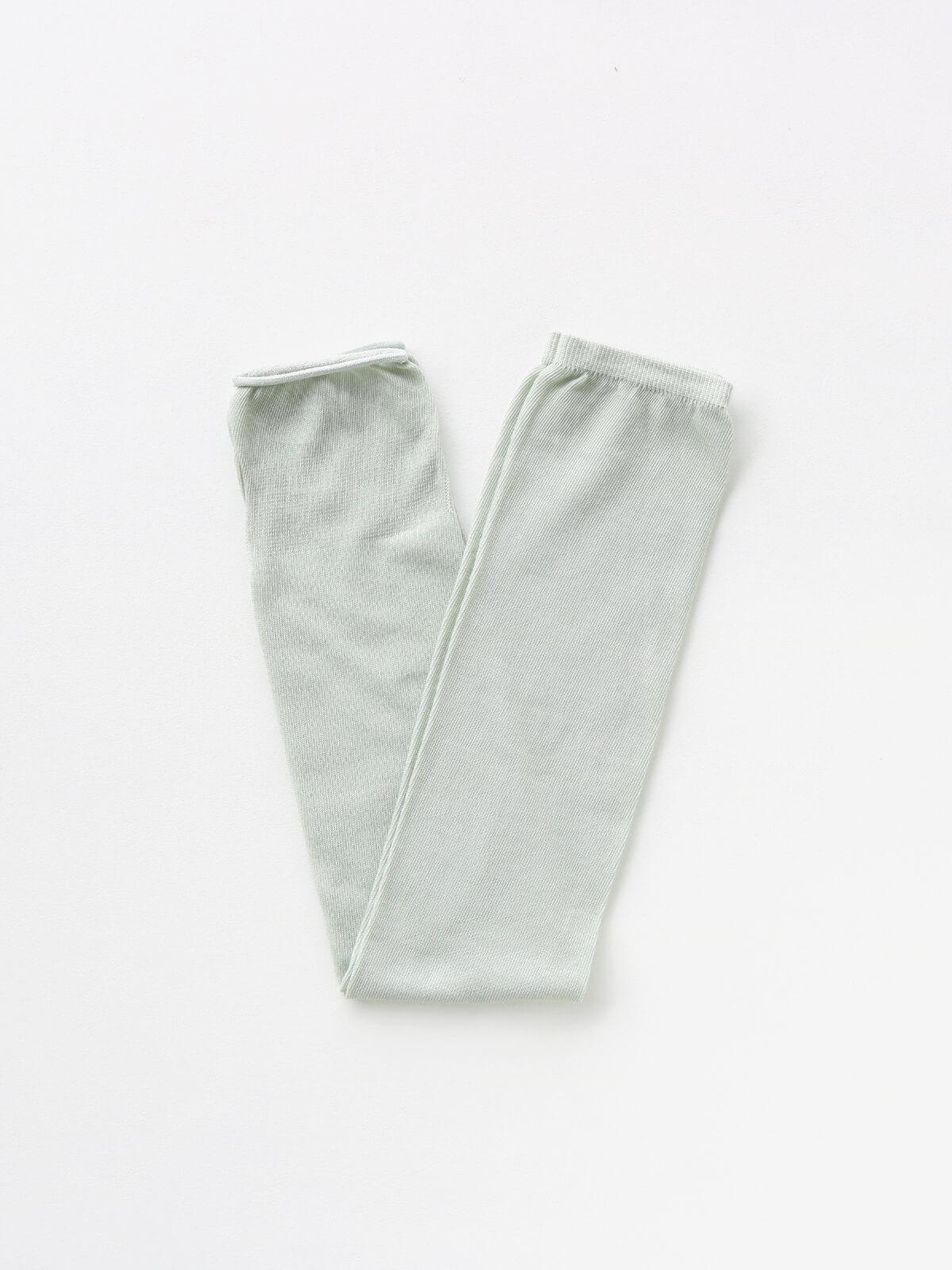 当たりつきギフト専用靴下のLUCKY SOCKS(ラッキーソックス)のSunscreen Plain Armcover(サンスクリーンプレーンアームカバー)のペールミント_2