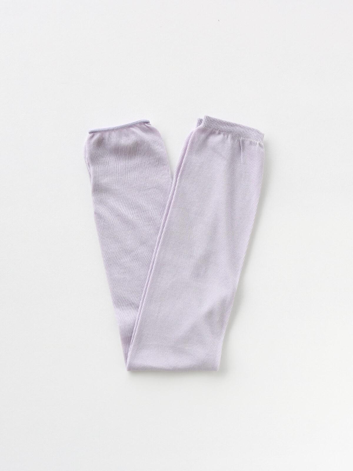 当たりつきギフト専用靴下のLUCKY SOCKS(ラッキーソックス)のSunscreen Plain Armcover(サンスクリーンプレーンアームカバー)のペールグレープ_2