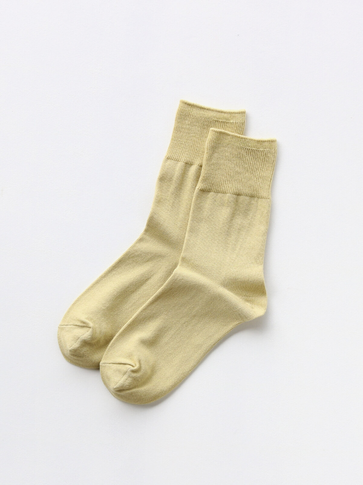 当たりつきギフト専用靴下のLUCKY SOCKS(ラッキーソックス)のLight Ankle Socks(ライトアンクルソックス)のペールイエロー_2