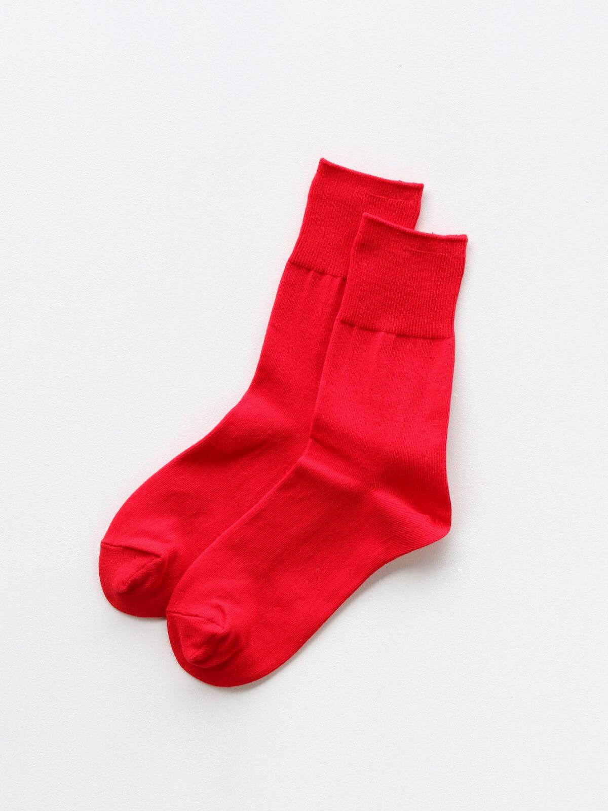 当たりつきギフト専用靴下のLUCKY SOCKS(ラッキーソックス)のLight Ankle Socks(ライトアンクルソックス)のレッド_2