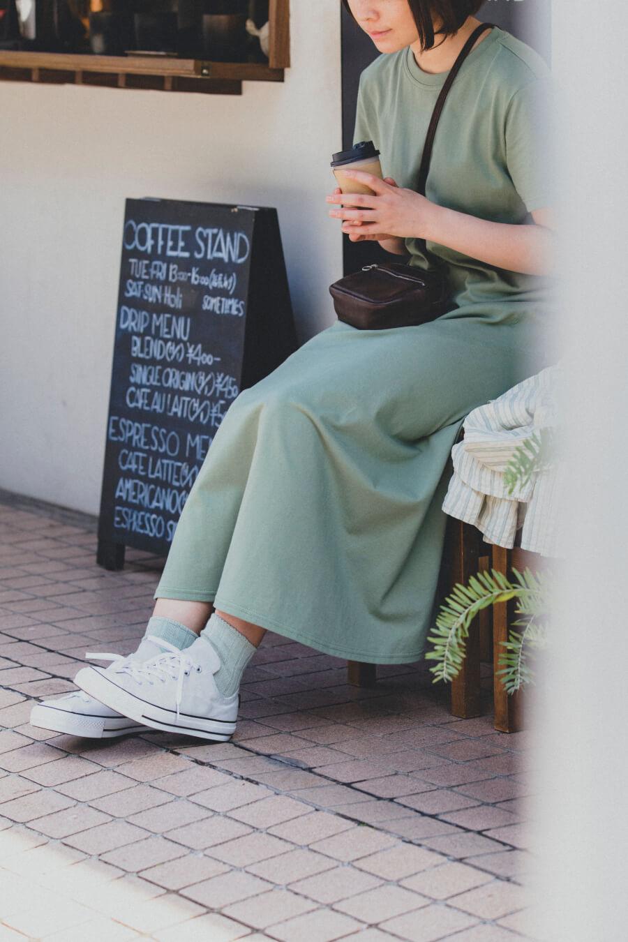 当たりつきギフト専用靴下のLUCKY SOCKS(ラッキーソックス)のSmooth Ankle Socks(スムースアンクルソックス)のペールミント_image1