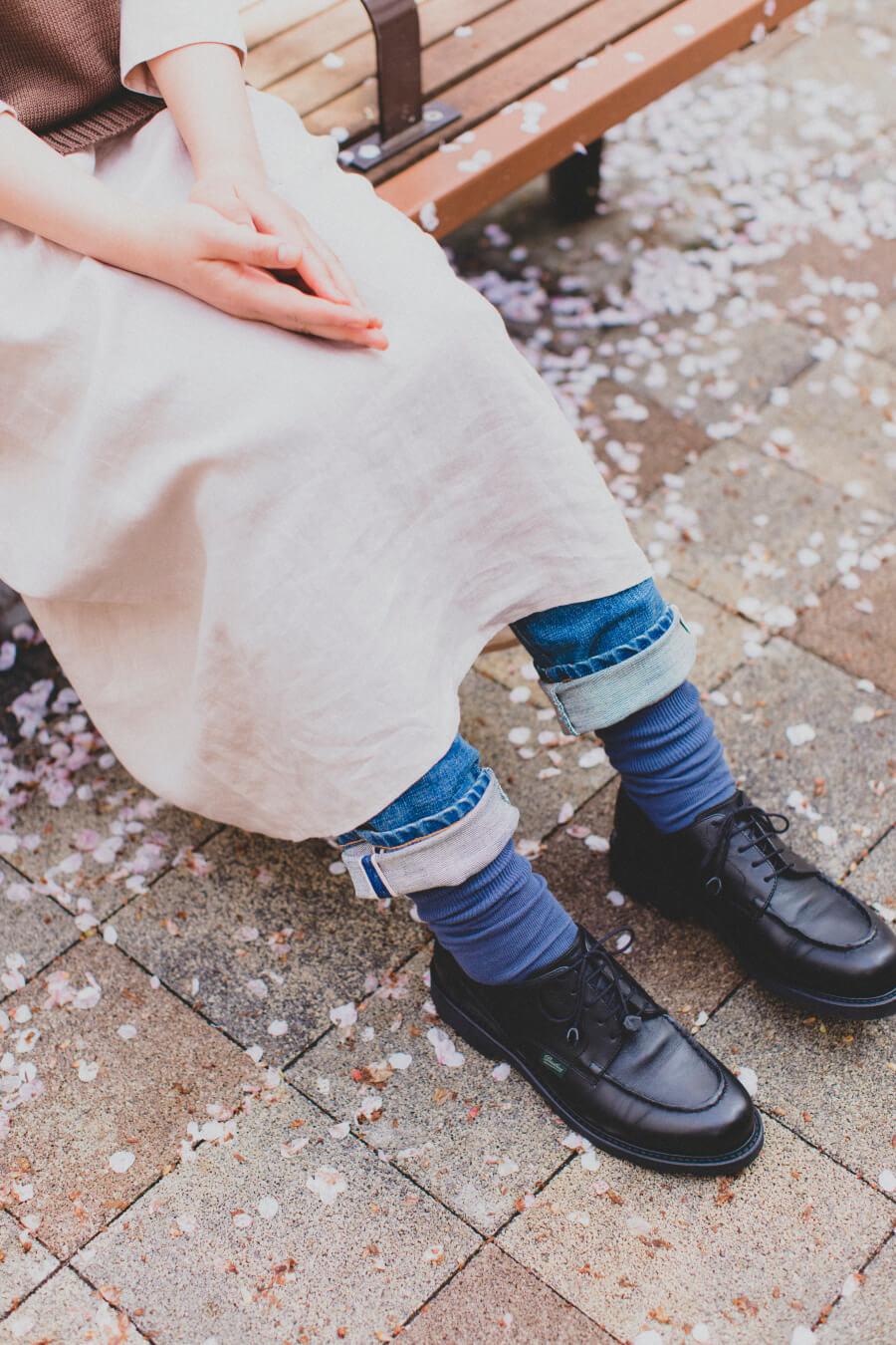 当たりつきギフト専用靴下のLUCKY SOCKS(ラッキーソックス)のLight Ankle Socks(ライトアンクルソックス)のインディゴ_image2
