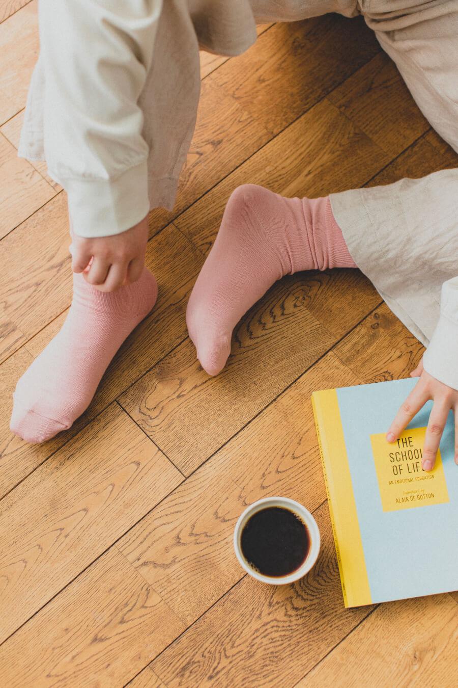 当たりつきギフト専用靴下のLUCKY SOCKS(ラッキーソックス)のLight Ankle Socks(ライトアンクルソックス)のパウダーピーチ_image2